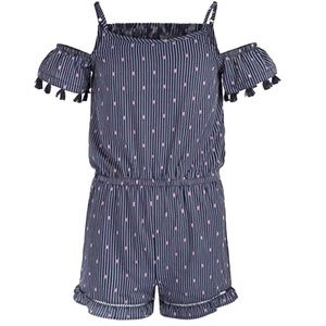 Epic Threads Big Girls Tassel-Trim Romper